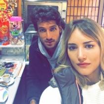Feliciano López y Alba Carrillo, siempre encantados