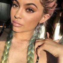 Coachella 2016: el maquillaje de Kylie Jenner de festival