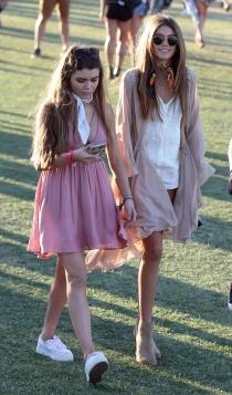 La hija de Cindy Crawford, en Coachella 2016