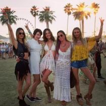 Coachella 2016 en Instagram: las amigas de Alessandra Ambrosio