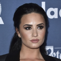 Famosas mejor maquilladas: Demi Lovato, a tope de make up