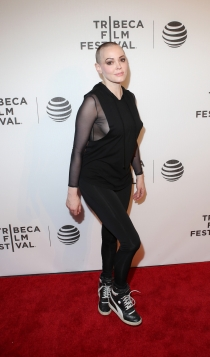 Tribeca 2016: Rose McGowan, demasiado informal