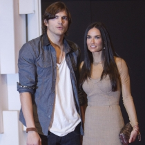 Ashton Kutcher le puso los cuernos a Demi Moore