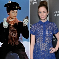 Personajes Disney: Emily Blunt es Mary Poppins
