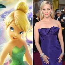 Personajes Disney: Reese Whiterspoon es Campanilla
