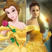 Personajes Disney: Emma Watson es Bella
