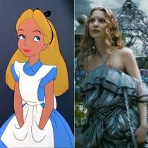 Personajes Disney: Mia Wasikowska es Alicia en el país de las maravillas