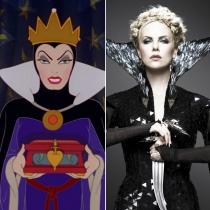 Personajes Disney: Charlize Theron es la reina Grimhilde