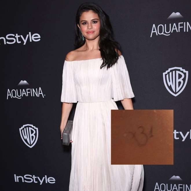 Tatuajes en la cadera: el símbolo hindú de Selena Gomez