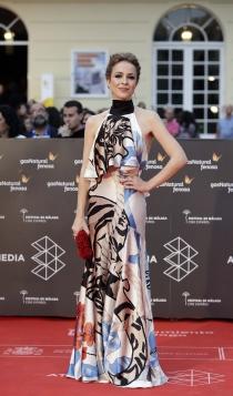 Festival de Cine de Málaga 2016: Silvia Abascal, radiante y estupenda