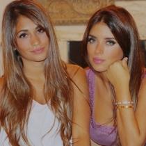 Daniella Semaan y Antonella Rocuzzo, estupendas en Instagram