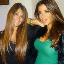 Las mejores fotos de la amistad de Antonella Rocuzzo y Daniella Semaan