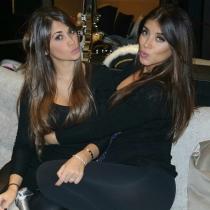 Juntas de fiesta, así son Antonella Rocuzzo y Daniella Semaan