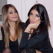 Antonella y Daniella, las novias que se conocieron en el Barça