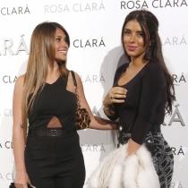 Daniella Semaan y Antonella Rocuzzo, fans de Rosa Clará
