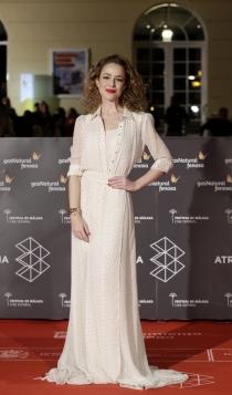 Festival de Cine de Málaga 2016: Silvia Abascal, sencilla pero estupenda