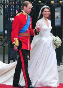 Los duques de Cambridge, convertidos en marido y mujer