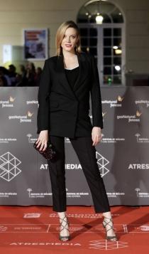 Festival de Cine de Málaga 2016: Carolina Bang,  sexy de negro