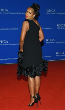 Cena de Corresponsales de la Casa Blanca: Kerry Washington, total black