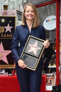 Paseo de la Fama: Jodie Foster, muy contenta