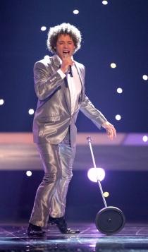 España Eurovisión: Daniel Diges y su look más futurista