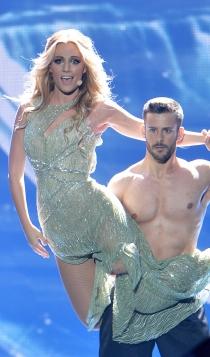 Looks España Eurovisión: Edurne y su look más sexy