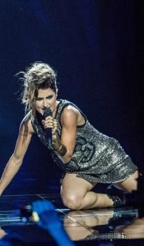 Looks España Eurovisión: Barei apuesta por los brillos