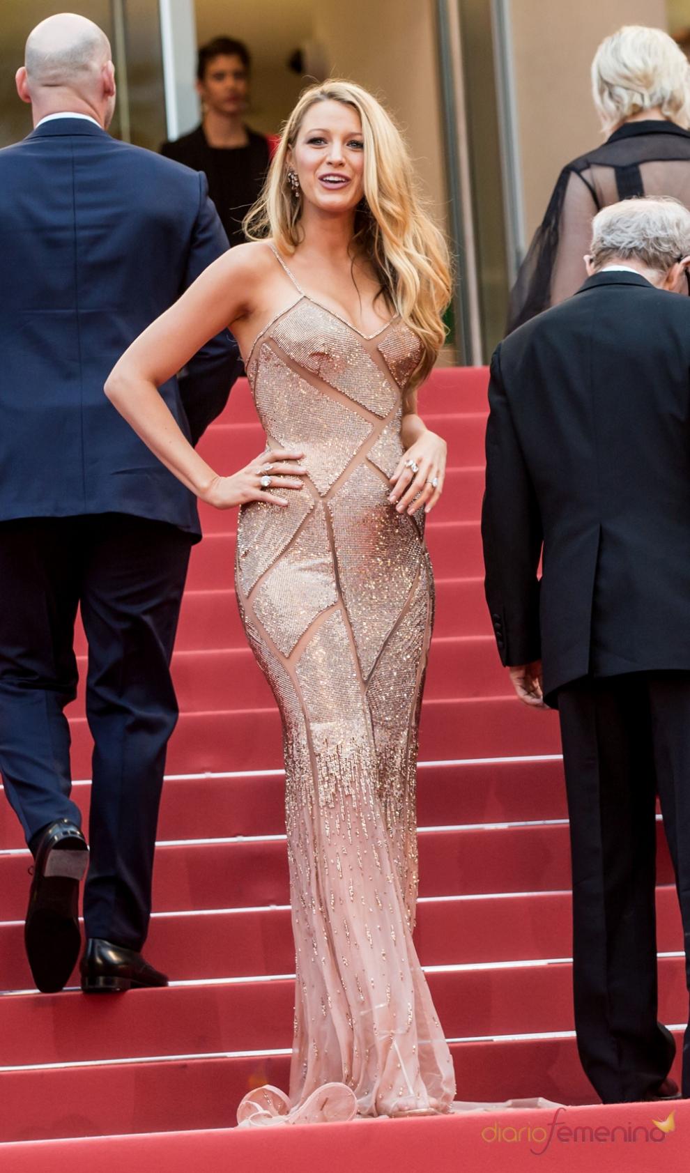 Cannes 2016: Blake Lively, siempre estupenda