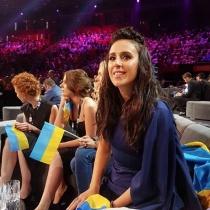 Ucrania, esperando a ser vencedora del festival de Eurovisión 2016