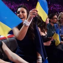 La representante de Ucrania, a punto de convertirse en ganadora de Eurovisión 2016