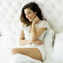 Tipos de flujo vaginal: blanco lechoso, al final del ciclo menstrual