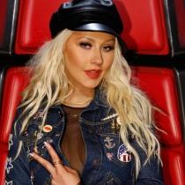 Christina Aguilera y su look effortless para La Voz