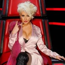 El look más sexy de Christina Aguilera para La Voz