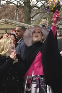 Máxima de Holanda, la reina de la fiesta con su cara más divertida