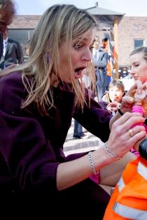 La cara más divertida de Máxima de Holanda, sorprendida ante la vida
