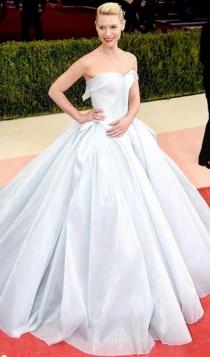 Famosas vestidas de Cenicienta:  Claire Danes