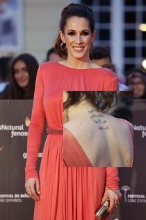 Tatuajes en el cuello: la frase de Malú