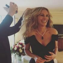 Cannes 2016 en Instagram: los preparativos de Julia Roberts