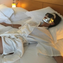 Cannes 2016 en Instagram: la mascarilla de Victoria Beckham
