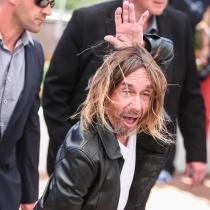 Iggy Pop y su peineta de flamenca para Cannes 2016