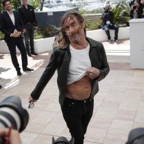 El tipazo de Iggy Pop para Cannes 2016