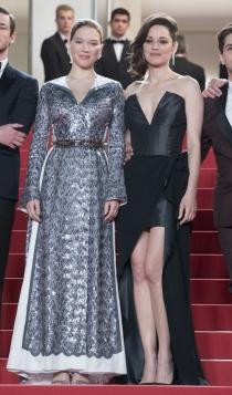 Cannes 2016: Marion Cotillard y Léa Seydoux, muy guapas