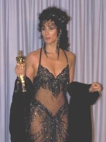 Cher, la reina de las transparencias en los Oscars