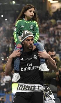 Hijos del Real Madrid: Kiko Casilla, un padre divertido
