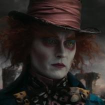 Personajes Johnny Depp: El sombrerero en Alicia en el país de las maravillas