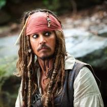 Personajes Johnny Depp: Jack Sparrow en Piratas del Caribe