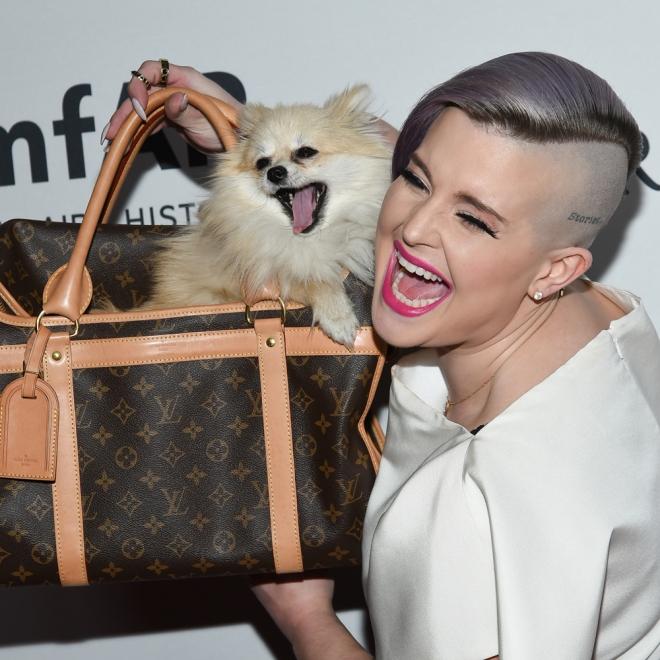 Nombres de perros de famosos: Polly, de Kelly Osbourne