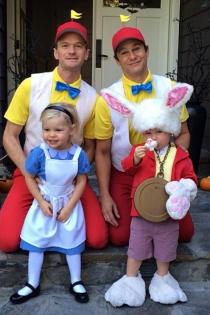 Neil Patrick Harris y David Burtka, familia feliz