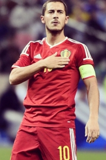 Eurocopa 2016: Eden Hazard para Bélgica