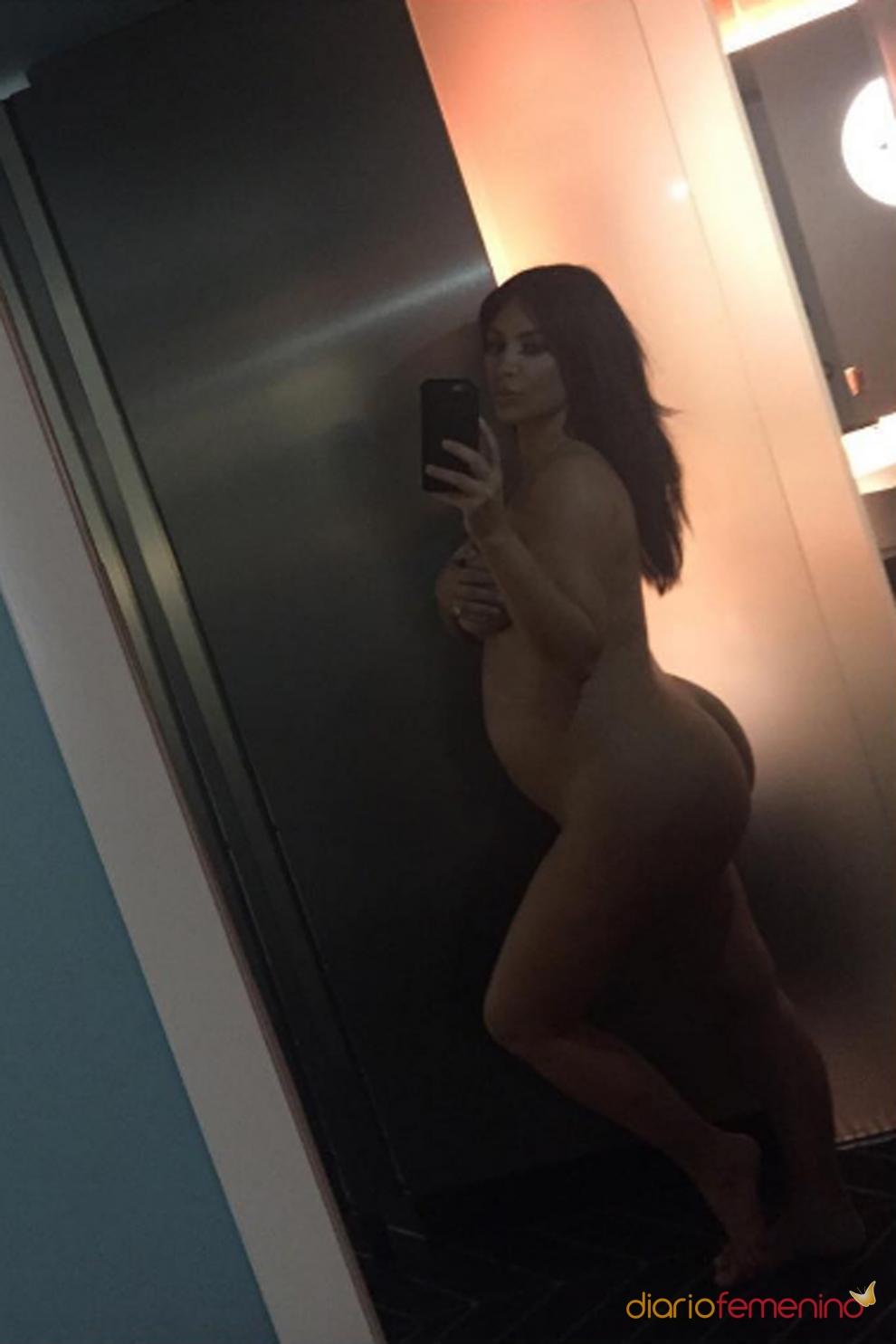 Kim Kardashian, desnuda y embarazada para el mundo entero